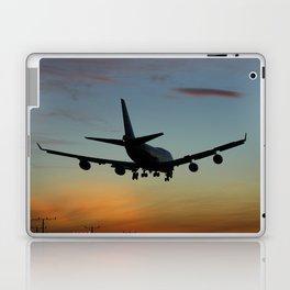747 Sunset Landing Laptop & iPad Skin