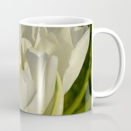 Double White Tulip by Teresa Thompson Coffee Mug