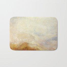 A mountain scene by Joseph Mallord William Turner, 1845 Bath Mat