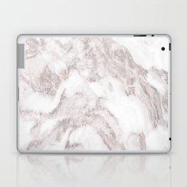 White Marble Mountain 014 Laptop & iPad Skin
