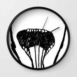 Eating Churros Wall Clock