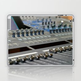 Mixing Console Laptop & iPad Skin