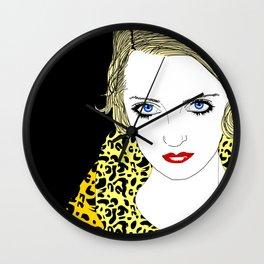 Bette Davis Wall Clock