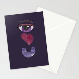 'Eye Heart U' -Valentine's Day Stationery Cards