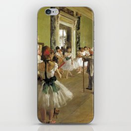 Edgar Degas The Dance Class iPhone Skin