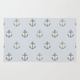 Stormy Nautical Pattern 1 Rug