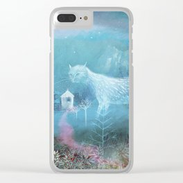 valley ghost Clear iPhone Case