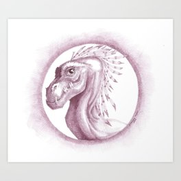 A Dragon Pup Art Print