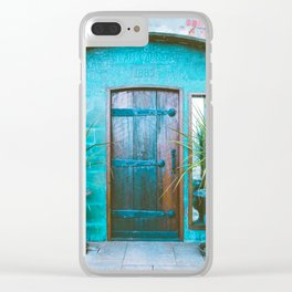 Clam Cannery Clear iPhone Case