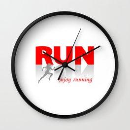Enjoy running Wall Clock