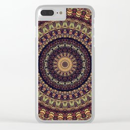 Mandala 252 Clear iPhone Case