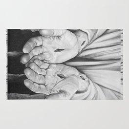 Jesus Hands Rug