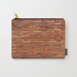 Red Brick Wall Pattern Carry-All Pouch