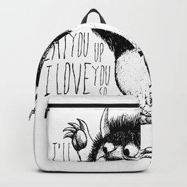 I'll Eat You Up I Love You So Backpack