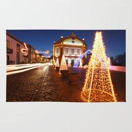 Christmas in Ribeira Grande Rug
