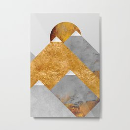 Modern Mountain No6-P2 Metal Print