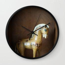 Paper Horse Wall Clock