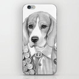 Eagle Beagle iPhone Skin
