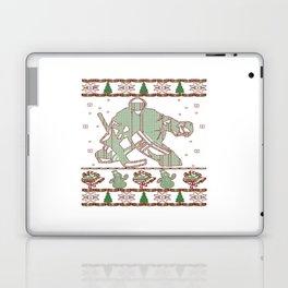 Hockey Goalie Christmas Laptop & iPad Skin