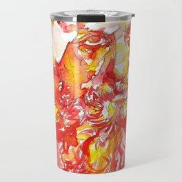 GRIGORI RASPUTIN - watercolor portrait.1 Travel Mug