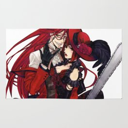 grell and madam red Rug