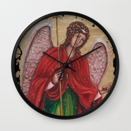 Archangel Gabriel Wall Clock
