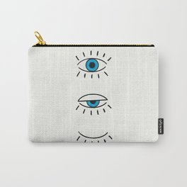Summer Evil Eyes Carry-All Pouch