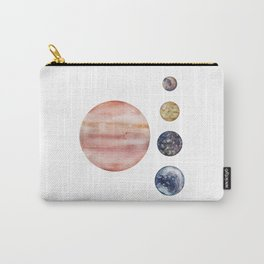 Jupiter & Moons Carry-All Pouch