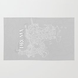 DRUMA Grey Rug
