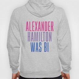 Alexander Hamilton Was Bi #2 Hoody