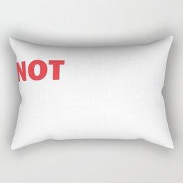 not my president Rectangular Pillow