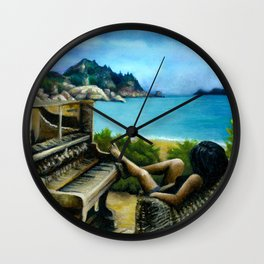 Radical Bay Wall Clock