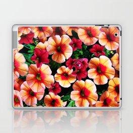 Flower Peach Petunia Laptop & iPad Skin