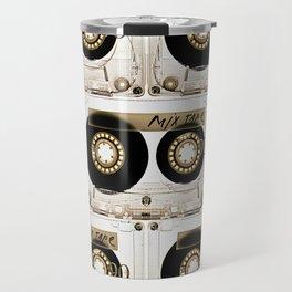 Transparant mix tape Retro Cassette Travel Mug