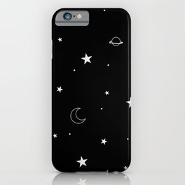 Midnight Doodles iPhone Case