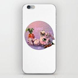 Chines Rabbit horoscope iPhone Skin