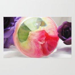 Pink Purple Floral Rose Fine Art Photography Pink Roses Rug