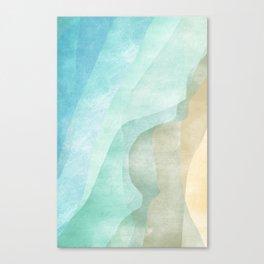 Stratum 9 Calm Canvas Print