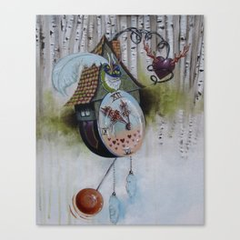 Lucky Timing Canvas Print