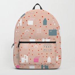 Pink Scandi City Backpack