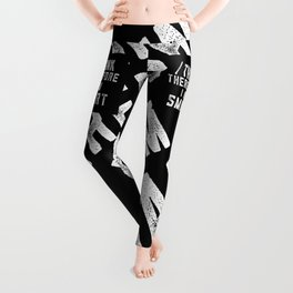 I Think Therefore I Am Smart Leggings