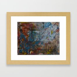This is the Title Framed Art Print