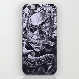 The Pirate Queen iPhone Skin