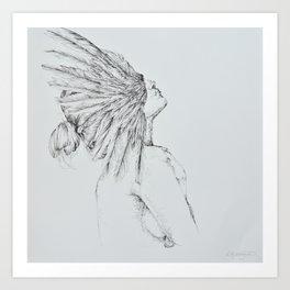 'Siren' Art Print