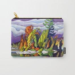 AJ's Little Island by Amanda Martinson Carry-All Pouch