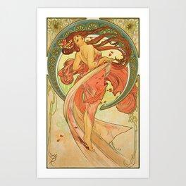 Alphonse Mucha  -  Dance Art Print