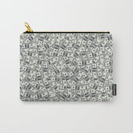 Giant money background 100 dollar bills / 3D render of thousands of 100 dollar bills Carry-All Pouch