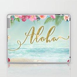 Golden Aloha Laptop & iPad Skin