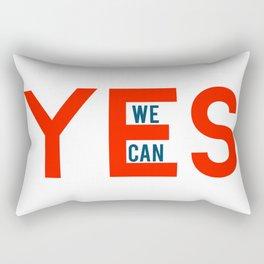 Yes we can Rectangular Pillow