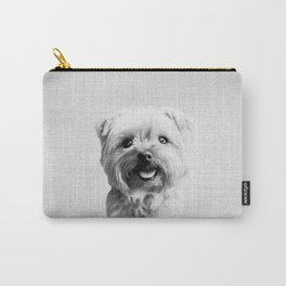 Dog - Black & White Carry-All Pouch